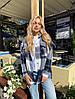 Рубашка в клетку синего цвета  от YuLiYa Chumachenkо, фото 4