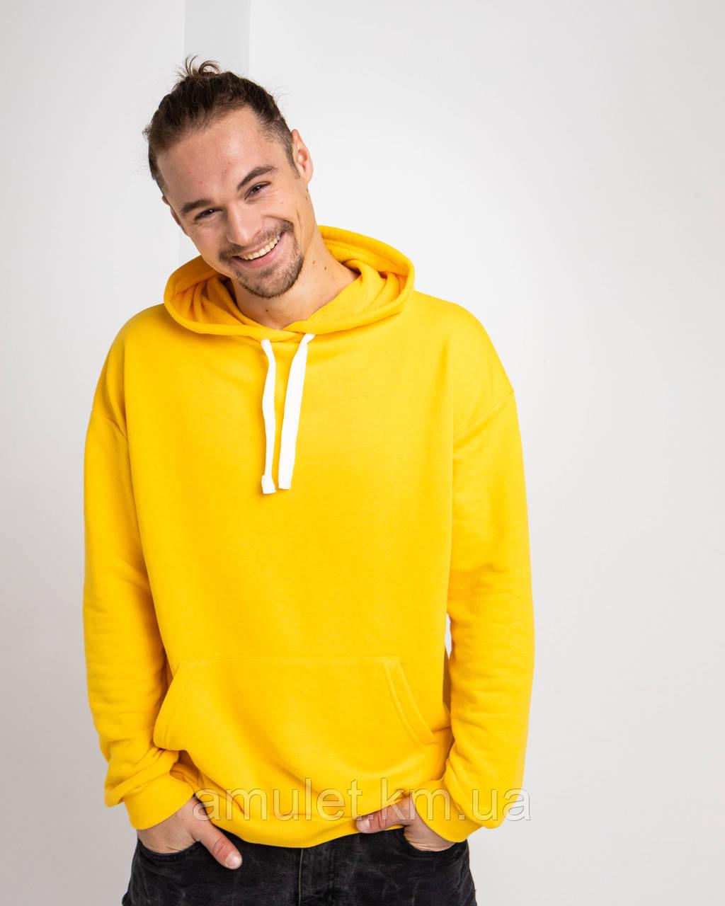Худи UNISEX   желтый цвет