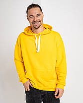 Худи UNISEX   желтый цвет, фото 3