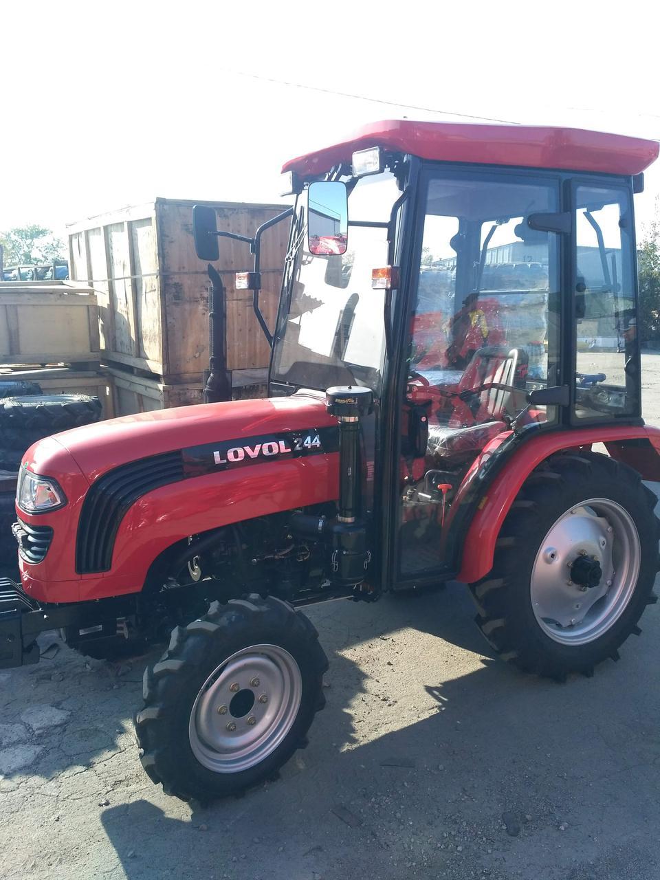 Трактор Foton LOVOL 244HC, 2-диск. сцепление, ГУР