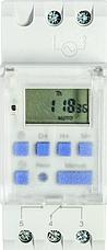 Таймер тижневий електронний з прозорою кришкою THC15-TC, фото 3