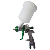 Краскопульт AURITA LVLP, 1,4 мм, верхний пластиковый бачок 600 мл.