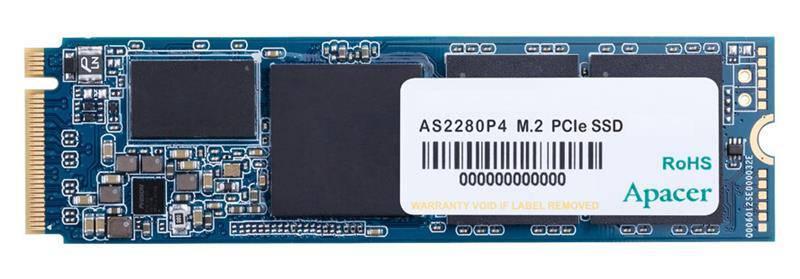 Твердотільний накопичувач SSD Apacer 1TB M.2 AS2280P4 NVMe PCIe 3.0 x4 2280 3D TLC (AP1TBAS2280P4-1), фото 2