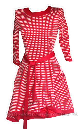 Женское платье узор 4 цвета