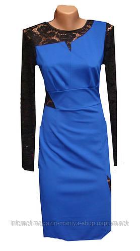 Женское платье c гепюром