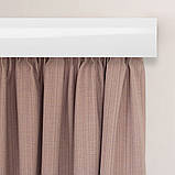 Лента декоративная на карниз, бленда Ажур 4 Мрамор хром 70 мм на усиленный потолочный карниз КСМ, фото 4