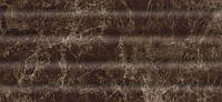 Плитка настенная Эмперадор коричневый темный рельефный