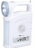 Радио фонарь с ручкой YAJIA YJ-2885 SY, 1W+22SMD, USB