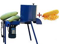 Корморезка 1,5 кВт 2в1 с диском для кукурузи теребилка