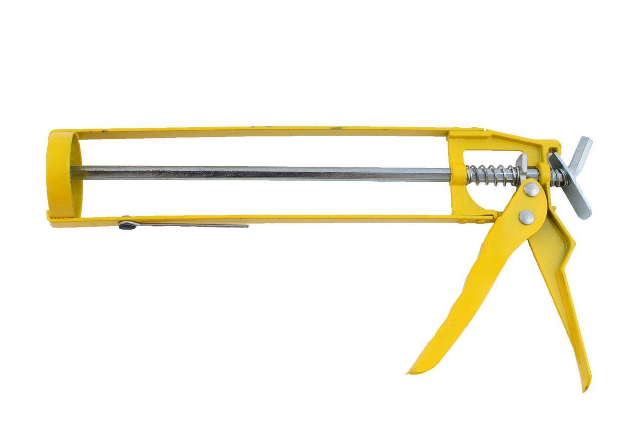 Пистолет для силикона Mastertool - скелетный, 225 мм 1 шт.