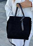 Женская замшевая сумка polina&eiterou, фото 2