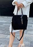 Женская замшевая сумка polina&eiterou, фото 4