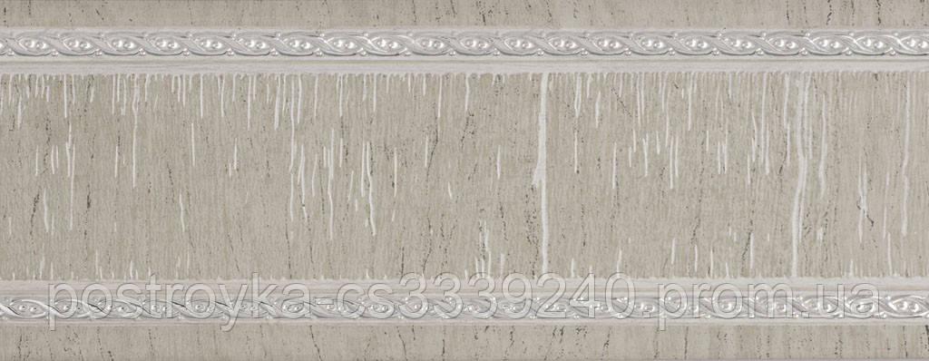 Лента декоративная на карниз, бленда Модерн №04 70 мм на усиленный потолочный карниз КСМ