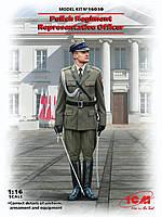 Офицер представительского польского полка. 1/16 ICM 16010