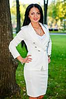 Женский деловой костюм,пиджак и юбка