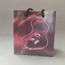 Пакет подарочный 9х10см (материал ПЭ)
