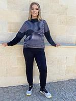 Женский костюм брючный прогулочный, разные цвета, р.48-50,50-52,52-54 Код 852Ю