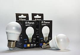 Светодиодная лампа Feron LB-195 7w Е14  2700К / 4000К 720Lm шар