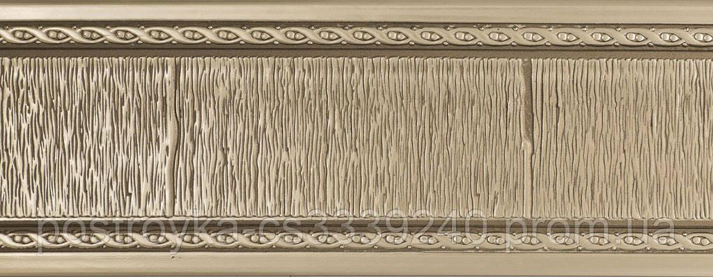 Лента декоративная на карниз, бленда Модерн №341 70 мм на усиленный потолочный карниз КСМ