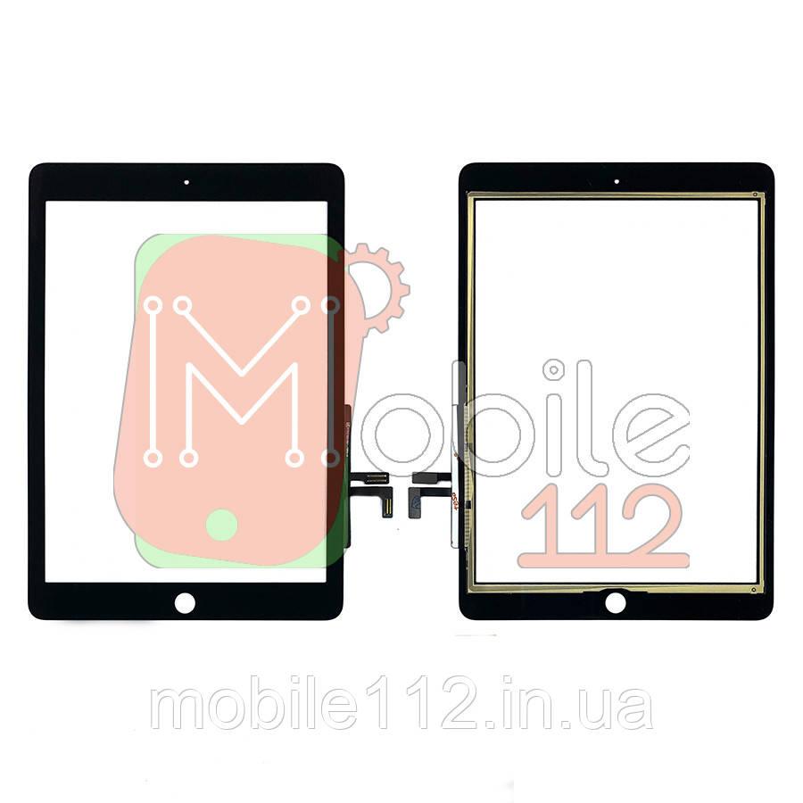 Сенсор (тачскрин) Apple iPad Air A1474 A1475 A1476, iPad 5 9.7 2017 A1822 A1823 черный копия высокого качества
