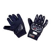 Перчатки PRO BIKER (size: XL, черные)