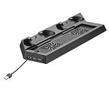 Вертикальная охлаждающая зарядная подставка Centechia для Playstation PS4 FAT, фото 7