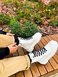 Женские зимние Dr.Martens Jadon White (Premium), фото 7