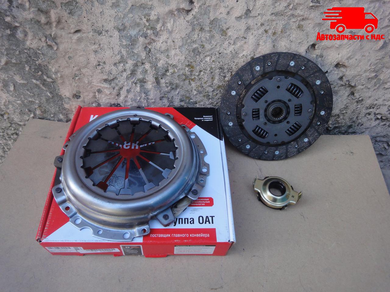 Сцепление комплект ВАЗ 2110, 2111, 2112 (диск + корзина + выжимной подшипник) (пр-во ОАТ-ВИС)