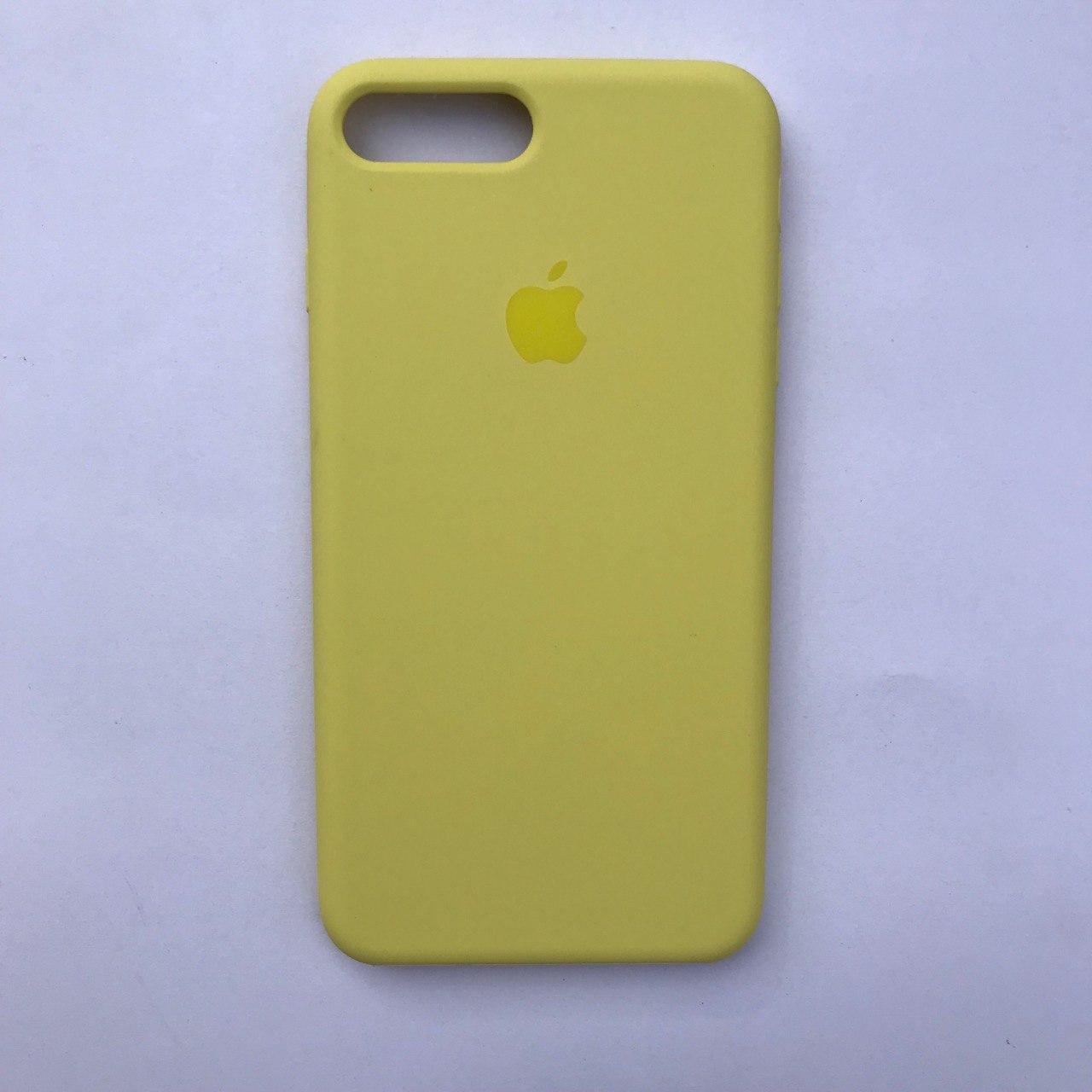 Накладка Silicone Case для Apple iPhone 7 Plus iPhone 8 Plus Lemonade