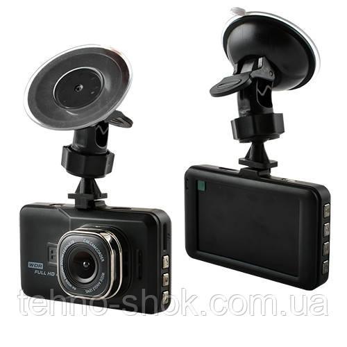 """Автомобильный видеорегистратор 626-2, LCD 3"""", Angel Lens, 1080P Full HD, металлический корпус"""
