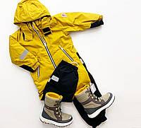 Комбинезон зимний Reima Reimatec Kiddo Finn желтый 92 см ab82978
