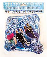 Бумажная гирлянда С Днем рождения Холодное сердце