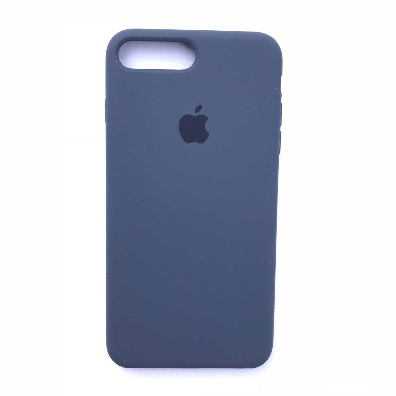Чехол-накладка Silicone Case для Apple iPhone 7 Plus iPhone 8 Plus Midnight Blue