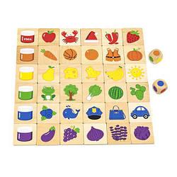 Деревянный пазл-игра Viga Toys Изучаем цвета (44505)