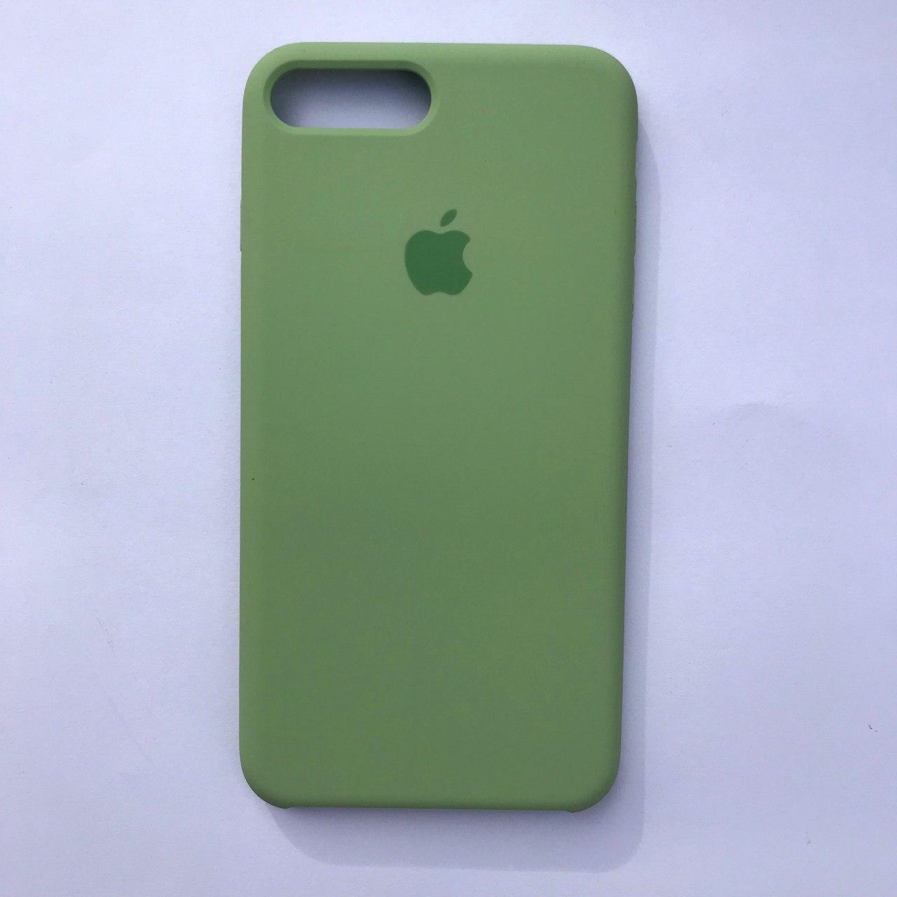 Чехол-накладка Silicone Case для Apple iPhone 7 Plus iPhone 8 Plus Mint green