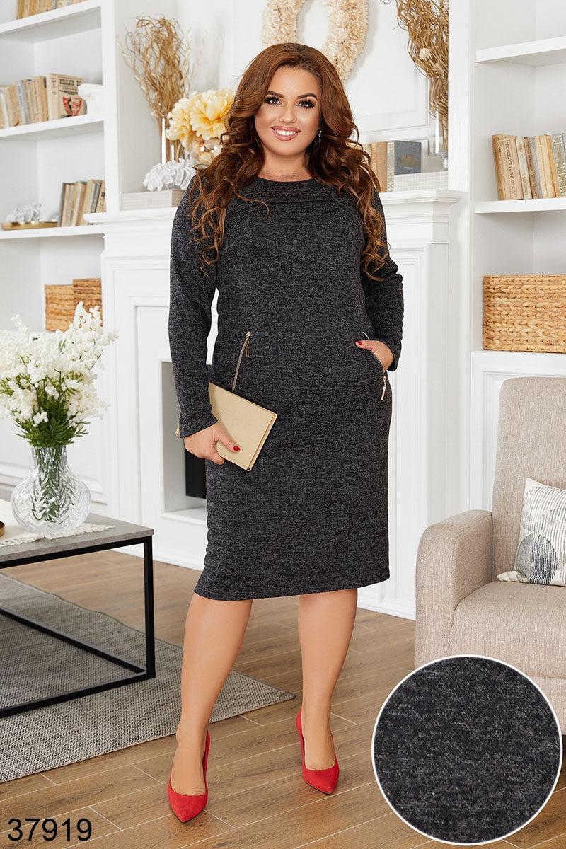 Осеннее  женское платье ангора софт размеры 48-50 52-54 56-58