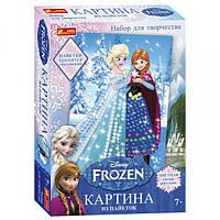 "Картинка из пайеток 4748-09  ""Frozen"", Анна и Эльза"