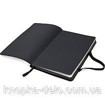 Книга записная Axent Partner Soft 8206-35-A, 125х195 мм, клетка, золотая, фото 2