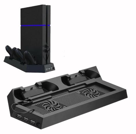 Вертикальная охлаждающая зарядная подставка Centechia для Playstation PS4 FAT