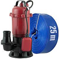Фекальный насос с измельчителем + шланг 25м Могилев (Беларусь) ФДН-2300 чугунный корпус