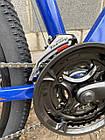 """Велосипед BATTLE МТВ 27,5-17"""" THUNDER, синий, фото 3"""