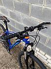 """Велосипед BATTLE МТВ 27,5-17"""" THUNDER, синий, фото 6"""