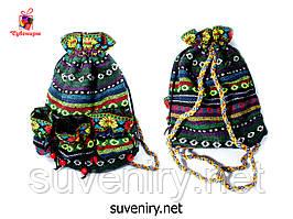 Рюкзак в карпатському стилі маленький