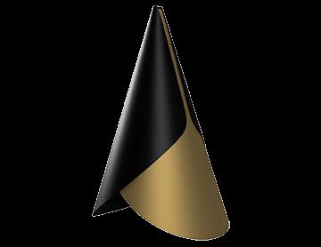 конический абажур