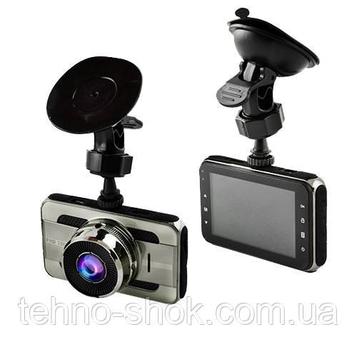 """Автомобильный видеорегистратор T669, LCD 3"""", Angel Lens, 1080P Full HD, HDMI, металлический корпус"""