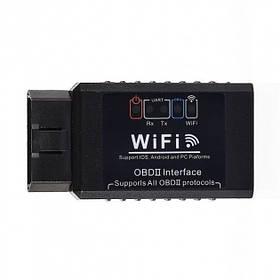 Диагностический автосканер OBD2 ELM 327 WiFi v1.5 для Android IOS iphone OBD hubVtpH72482, КОД: 1913339