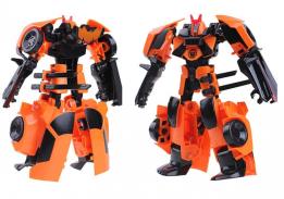 Большой трансформер Дрифт, размер трансформера в виде робота: 17х17 см, J8017E