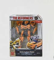 Автобот трансформер Bumblebee W6699-25-2, робот большой 17 см