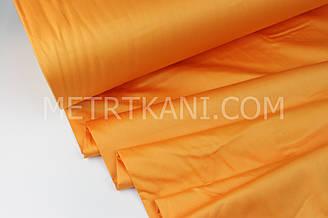 Cатин для постельного белья рыжего цвет 240 см № ПС-007