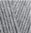 Турецкая пряжа Alize Lanagold Fine для ручного вязания полушерсть серый миланж №21